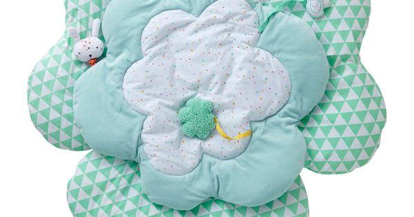 vertbaudet activity decke wolkendecke zum spielen und entdecken in hellblau baby newborn. Black Bedroom Furniture Sets. Home Design Ideas