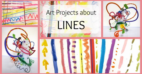 Line Art Lesson For Kindergarten : Learning about lines art lessons kindergarten and