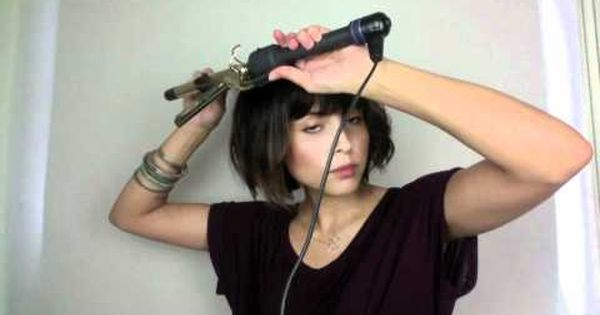 10 Short Hair Styles, via YouTube. Really awesome tutorial on how to