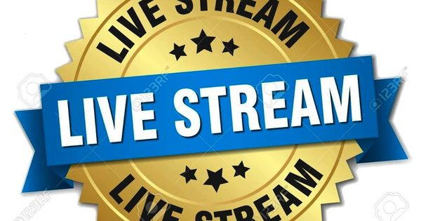 Isolated Afflive Stream Round Badge Live Goldstream Round Isolated Gold Badge Live Stream Round Isolated Gold Badge Stre Badge Blue Ribbon Anniversary
