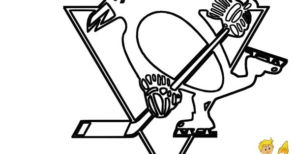 Pittsburgh Penguins hockey coloring