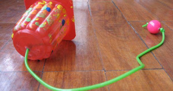 Pl stico papel o cart n creando 3 juguetes con material for Objetos hechos con marmol