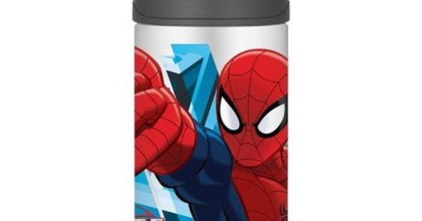 Spider Man 12oz Insulated Straw Bottle By Thermos Http