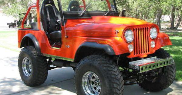 Cj5 Jeeps For Sale Jeep Cj5 Jeep Monster Trucks