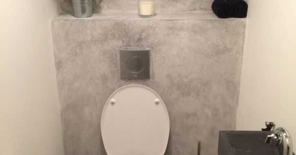 Eindresultaat ons toilet wc idee n pinterest wc en idee n - Wc decoratie ideeen ...