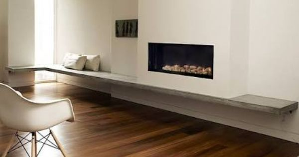 Fireplace Hearth Bench Seat Google Search Fireplace Seating Floating Fireplace Fireplace Hearth