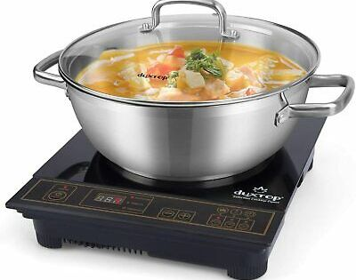 Duxtop 8100mc 1800w Portable Induction Cooktop Countertop Burner Included 5 7 Q In 2020 Induction Cooktop Countertop Oven Kitchen Tops