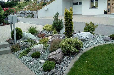 Steingarten am Hang - toll!! japanese garden Pinterest Gardens - ideen gestaltung steingarten hang