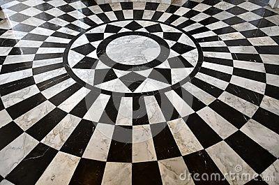 Black And White Marble Floor Pattern By Tiwakorn07 Via Dreamstime