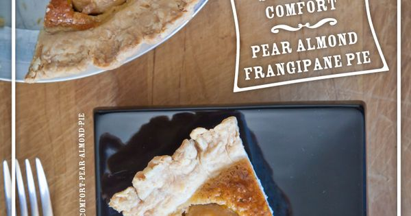 Southern Comfort Pear Almond Frangipane Pie. Recipe and ...