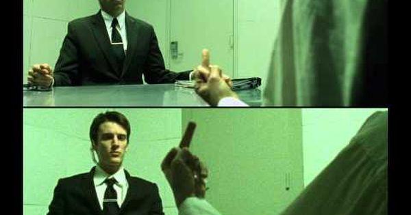 The Matrix Interrogation Scene Recreation Youtube In 2021 Scene Recreation Scenes