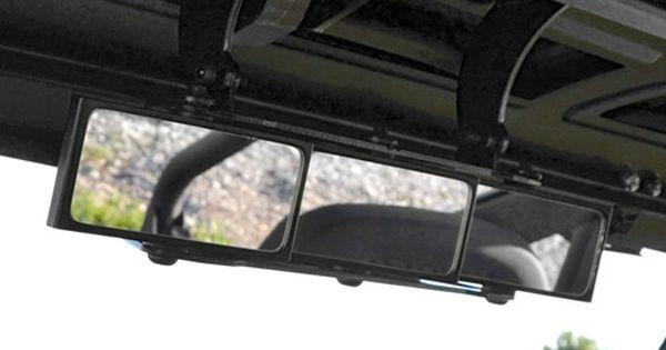 Polaris Ranger 3 Panel Rear View Mirror Polaris Ranger Ranger