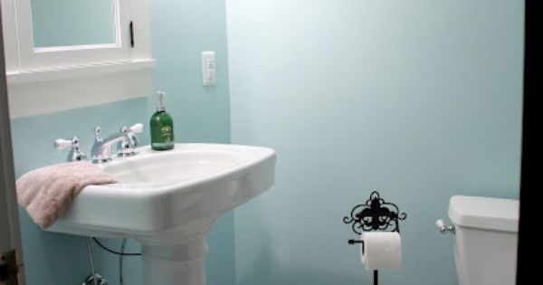 Sherwin Williams Open Air 6491 Bathroom Redo