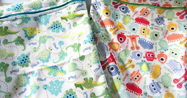 Love this pattern! Super easy wet bag tutorial - ready in under