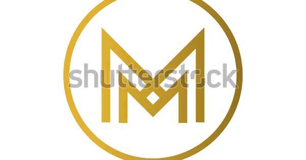 Immagine Vettoriale Stock 472100008 A Tema Lettera M Logo Nel