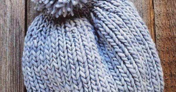 Knitting Hat Pattern Circular Needles : Anthropologie inspired knitted hat pattern circular