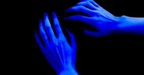 blue, hands, and black image   Everything is blue, Blue aesthetic,  Aesthetic colors