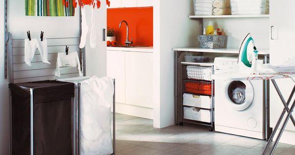 Pr cticos cuartos de lavado y plancha tendedero for Lavaderos practicos