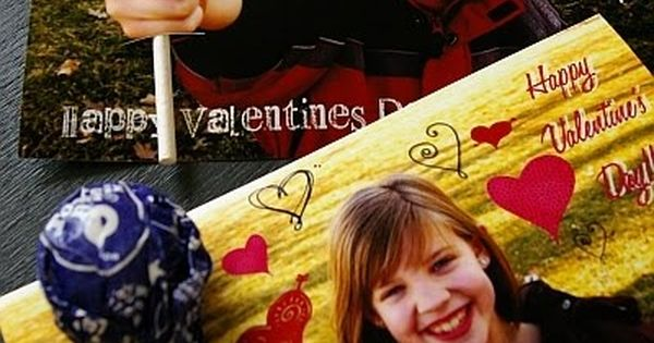 Valentine's Day - cute idea for valentines cards
