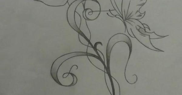 coquelicot volutes papillon fleurs pinterest volute coquelicots et papillon. Black Bedroom Furniture Sets. Home Design Ideas