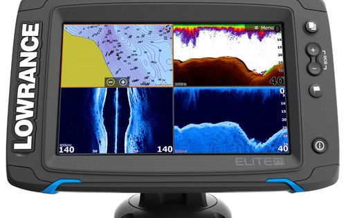 Lowrance Elite 7 Ti Touch Totalscan Youtube