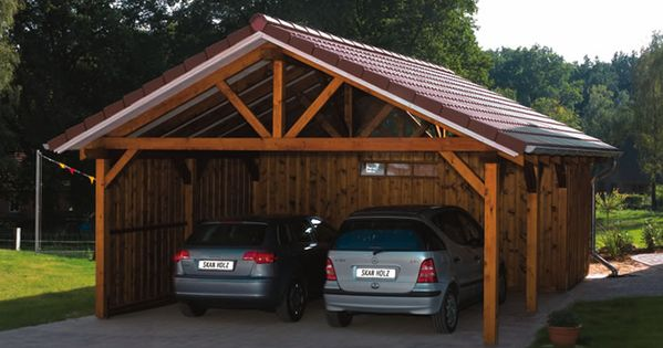 Carport Designs Douglas Fir Apex Carport With A Storage