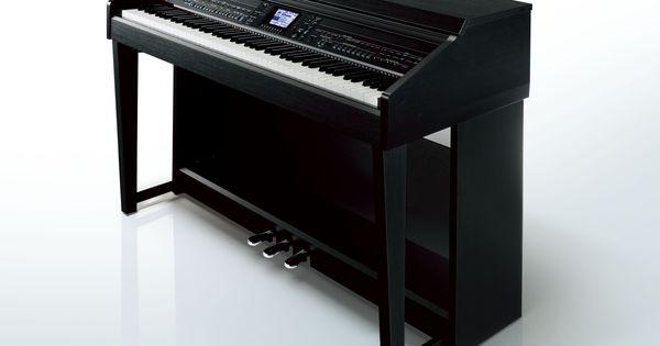 The yamaha clavinova cvp 601 digital piano in a black for Yamaha clavinova cvp 601