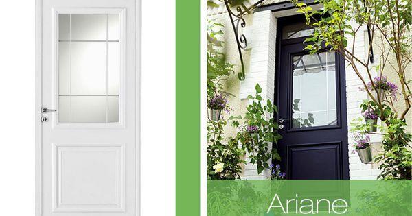 une porte d entr e s curis e ariane entr e et portes. Black Bedroom Furniture Sets. Home Design Ideas