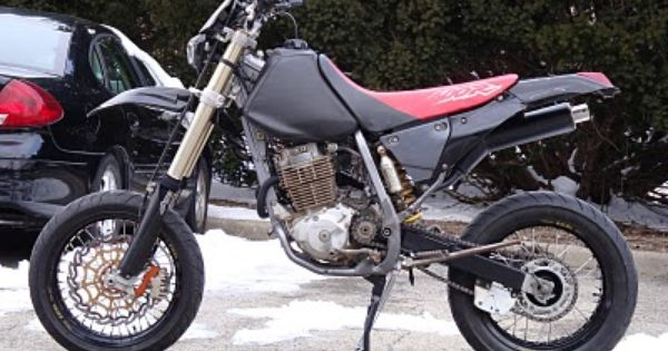 xr400 super moto with center stand motorcycles. Black Bedroom Furniture Sets. Home Design Ideas