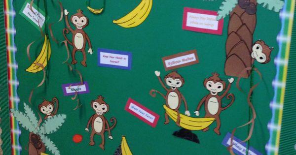 Playground Safety Year Round Bulletin Board Elementary