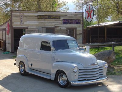 1949 Chevrolet Thrift Master Panel Delivery Truck Classic Chevy