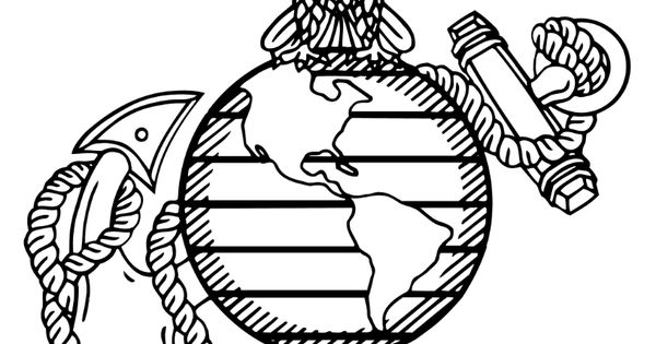 marine corp coloring pages - photo#9