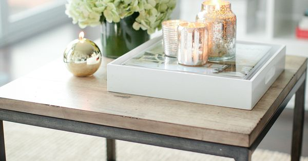 Coffee table styling and other ideas