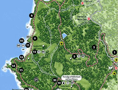 #17miles cypress pebblebeach ghosttree camelbythesea thelodge