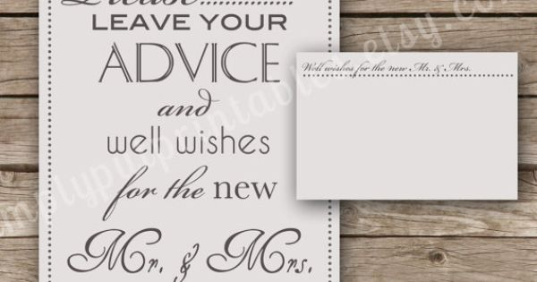 Wedding Well Wishes Sign And Cards Wishing Tree Cards Guest Book Sign