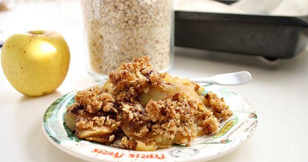 Quick and Easy Apple Oatmeal Crisp | Dessert | Pinterest | Apple ...