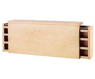 Headboard Storage Malm Queen Bed Headboard From Ikea 199 Usd Tete De Lit Avec Rangement Amenagement Chambre Mobilier De Salon