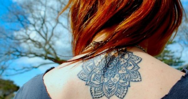 Mandala Tattoo, location and size and ginger.