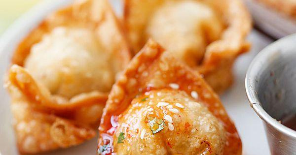 Wonton recipes, Wontons and Homemade on Pinterest