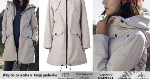 Bon A Parte Plaszcz Damski Z Kapturem Bezowy 38 M 5831512616 Oficjalne Archiwum Allegro Fashion Coat Trench Coat