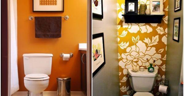 C mo decorar ba os peque os 8 casa pinterest decorar - Como decorar banos pequenos ...