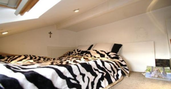mezzanine bedroom   future chambre au grenier   pinterest, Hause ideen