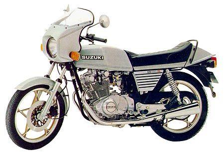 Suzuki Gs 450 S 1981 Suzuki Cafe Racer Autos Y Motos Motos