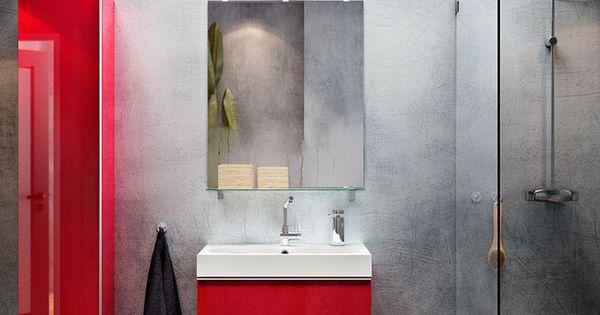 Incre ble soluci n de ba o para dar un aire moderno tonos - Armario lavabo ikea ...
