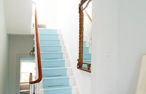 Fantastic idea to copy for our basement stairs