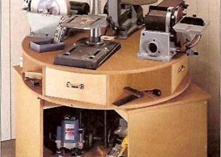 Link to Rotating Top Tool Caddy (sadly most of it is gobbledygook but might be able to decipher ...