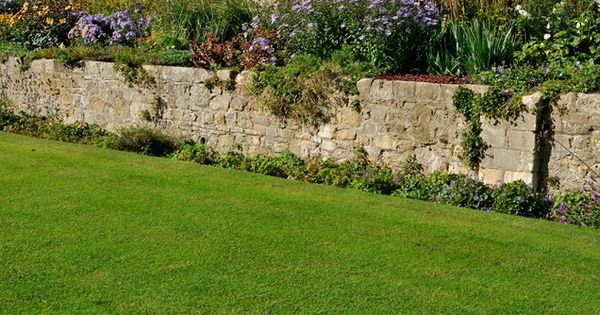 Mortared Stone Retaining Wall Retaining And Landscape Wall