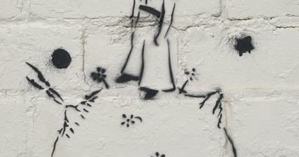 The Little Prince street art. One of my favorite books.
