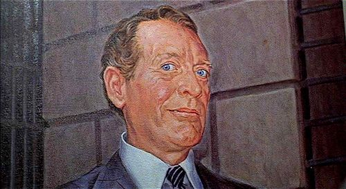 Portrait By Doc Of The Warden Patrick Mcgoohan That Got His