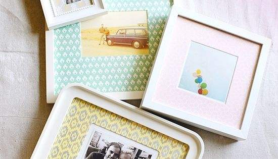 DIY frames, hipster, apartment, home, cute